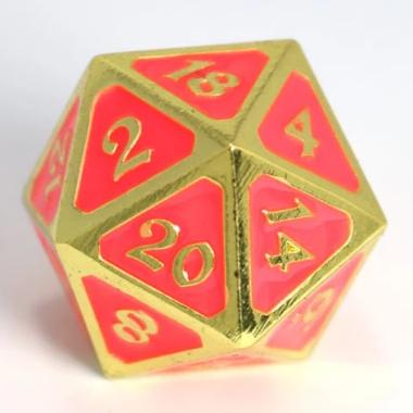 Single d20 - AfterDark Neon Bloom