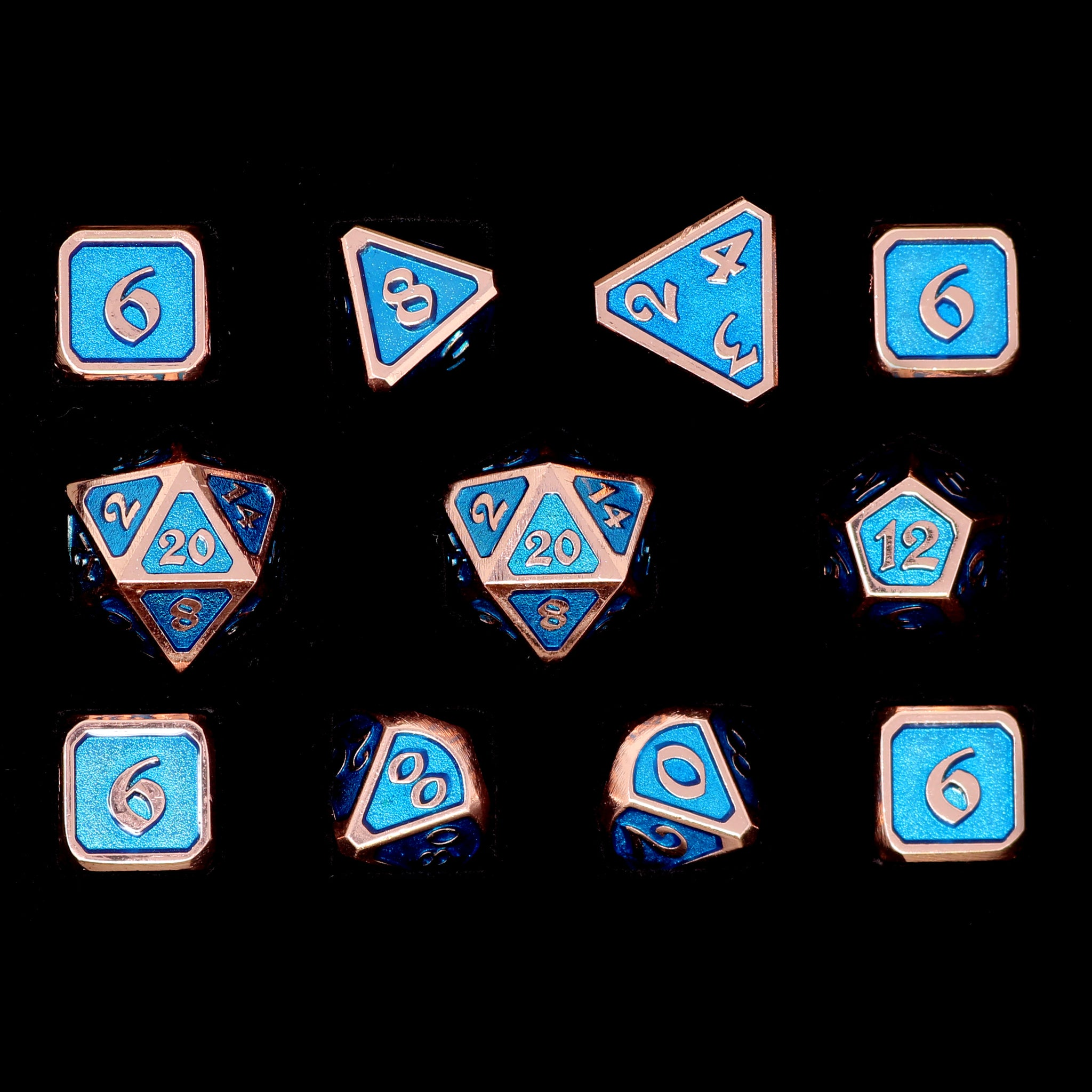 Mythica Copper Aquamarine - 11 Piece Set