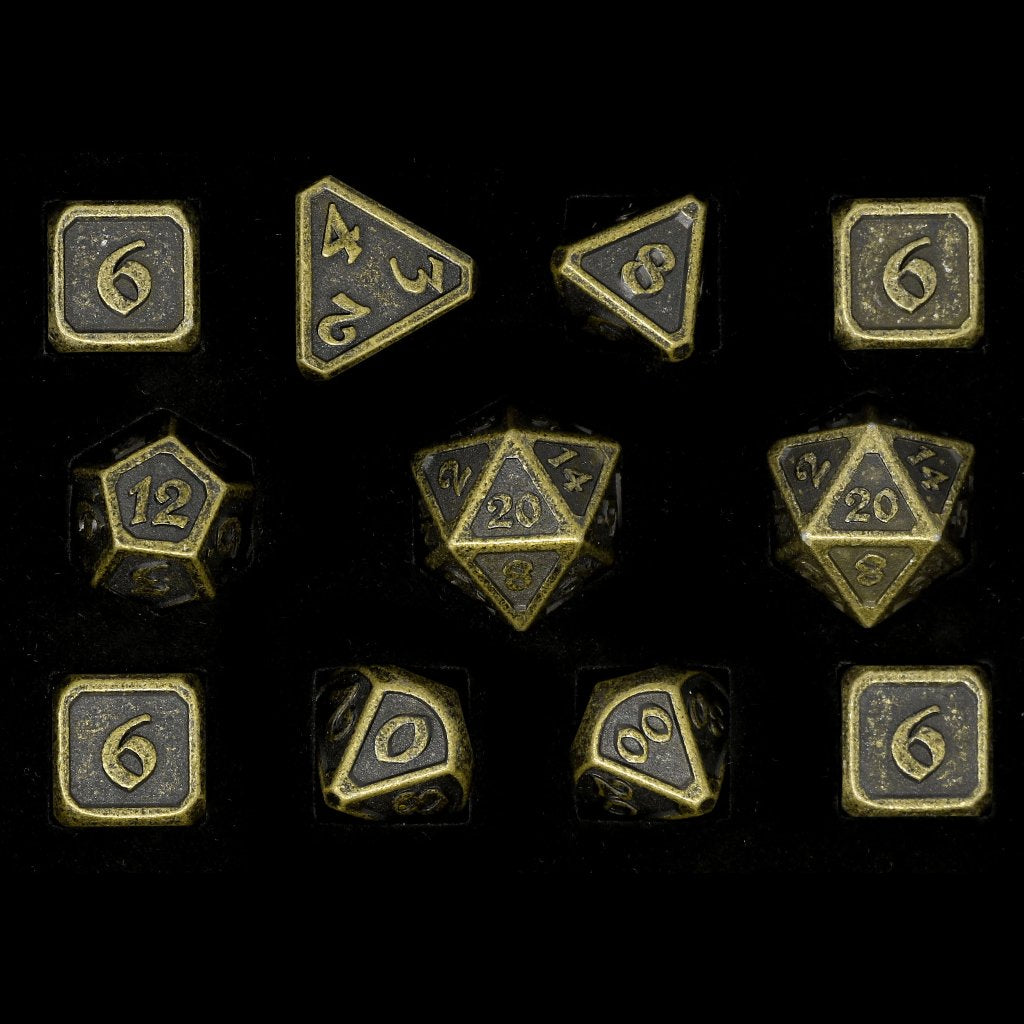Mythica Dark Gold - 11 Piece Set