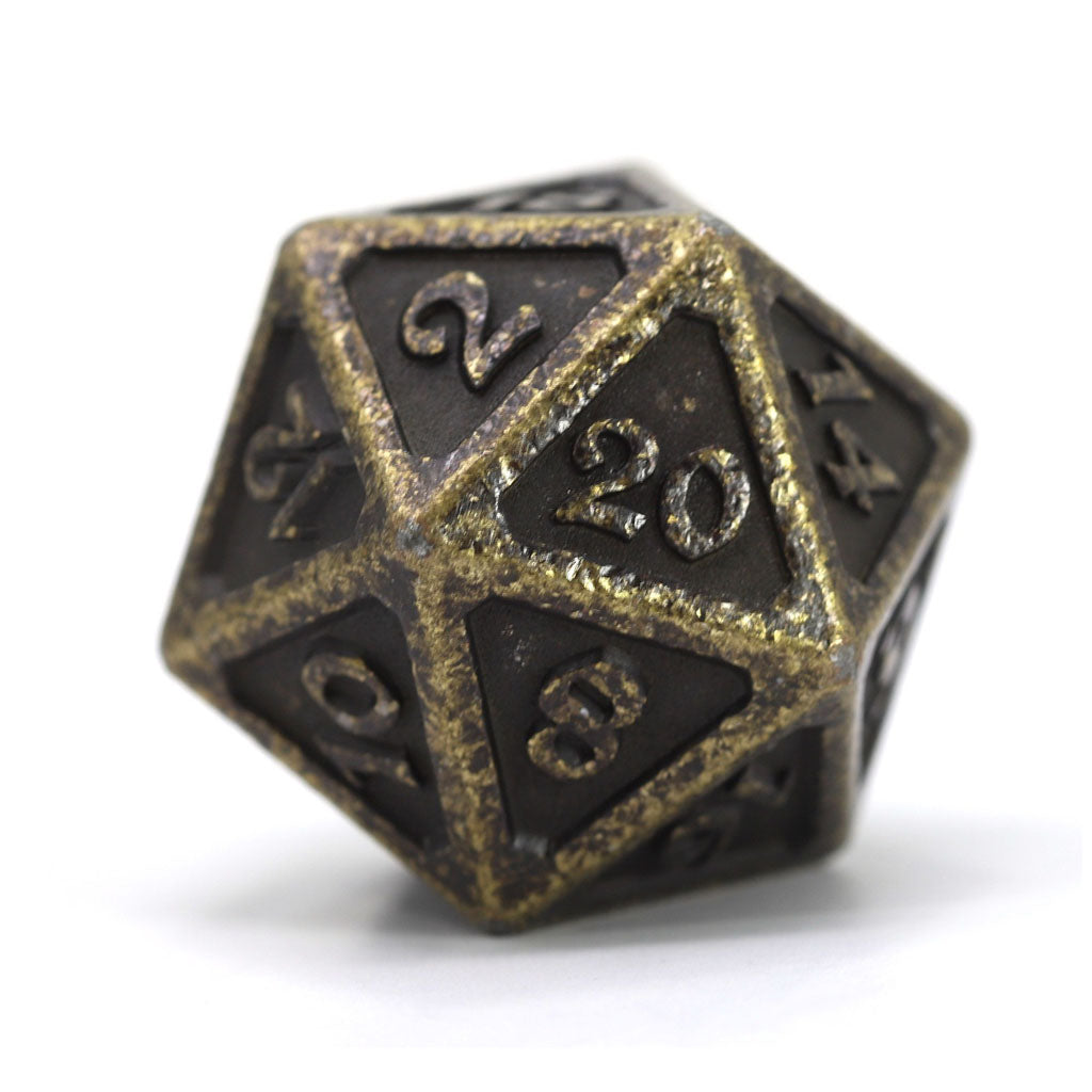Dire d20 - Mythica Dark Gold