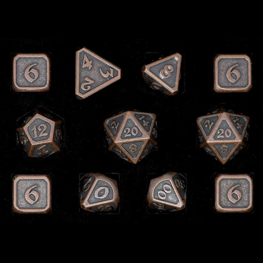 Mythica Dark Copper - 11 Piece Set