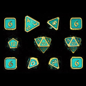 Mythica Gold Aquamarine - 11 Piece Set