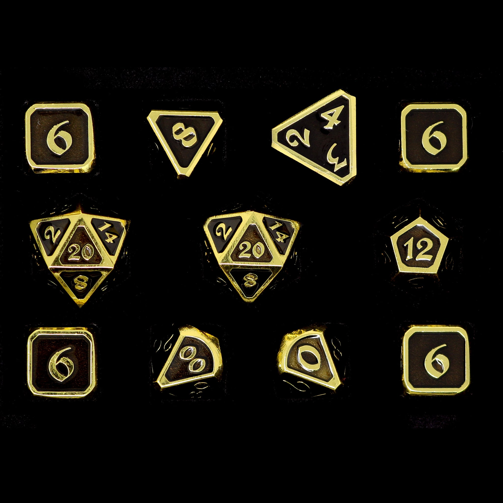Mythica Gold Onyx - 11 Piece Set
