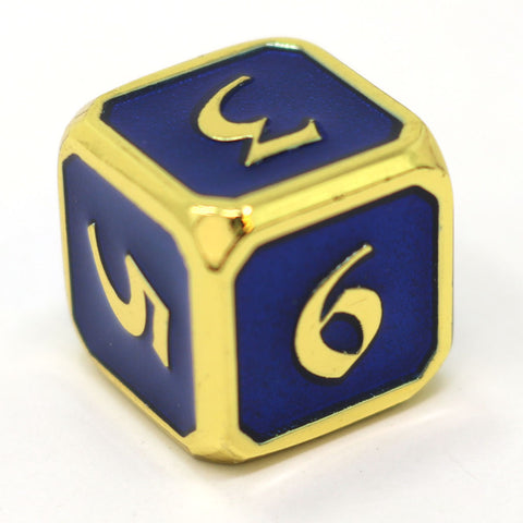 Single d6 - Mythica Gold Sapphire