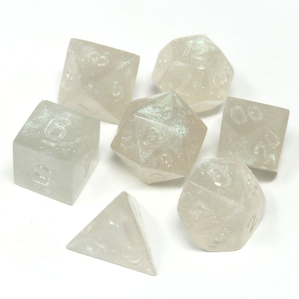 Project Dice - Untumbled Glacial Moonstone
