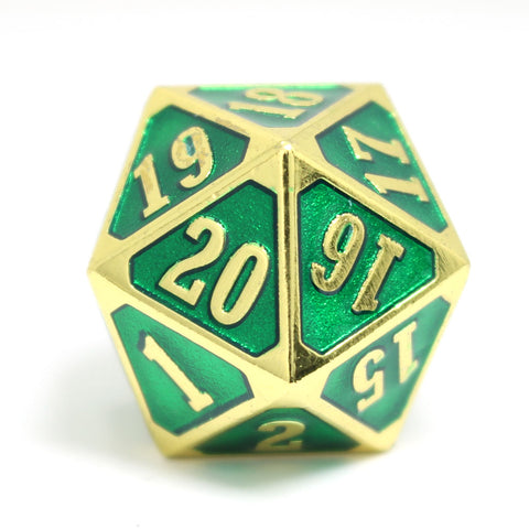 MTG Roll Down Counter - Shiny Gold Emerald