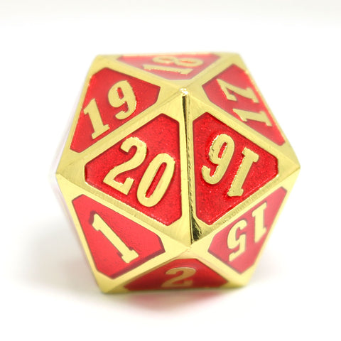 MTG Roll Down Counter - Shiny Gold Ruby