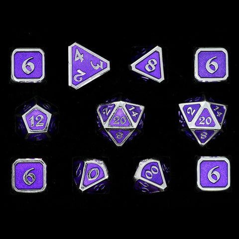 Mythica Platinum Amethyst - 11 Piece Set