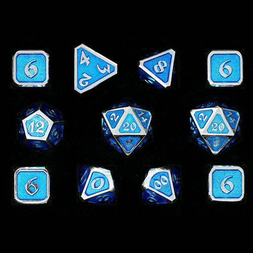 Mythica Platinum Aquamarine - 11 Piece Set