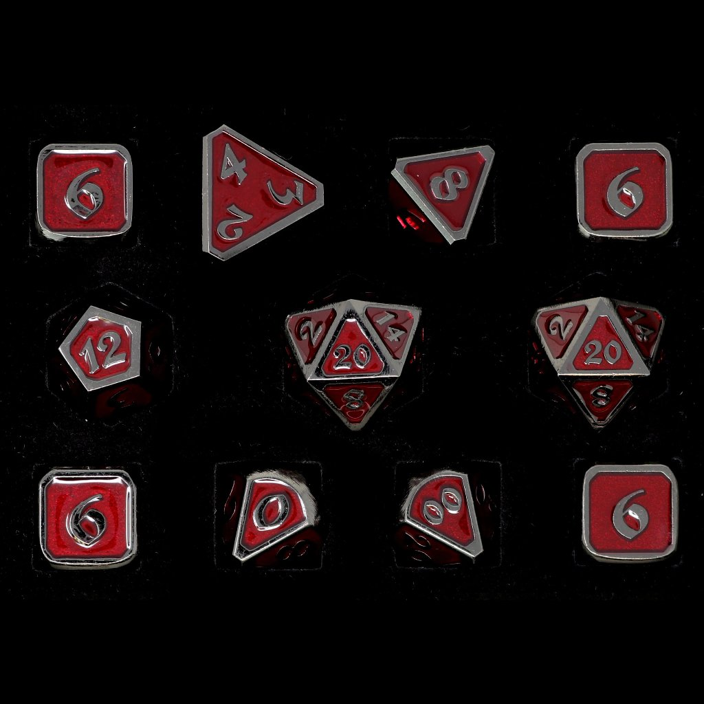 Mythica Sinister Ruby - 11 Piece Set