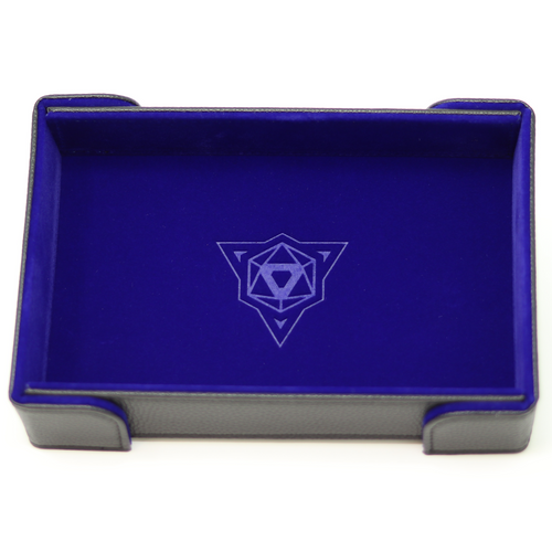 Die Hard Magnetic Rectangle Tray w/ Blue Velvet