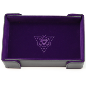 Die Hard Magnetic Rectangle Tray w/ Purple Velvet
