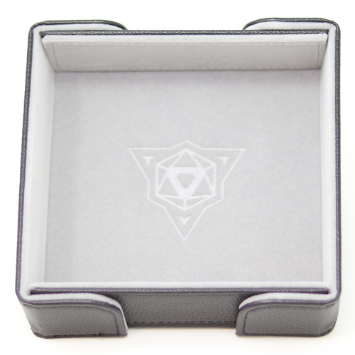 Die Hard Magnetic Square Tray w/ Gray Velvet