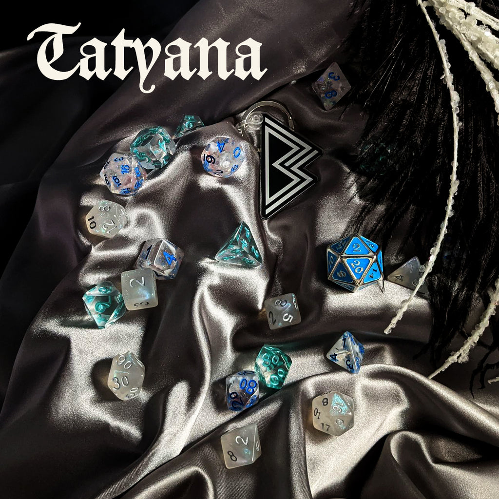 The Tatyana Dice Palette