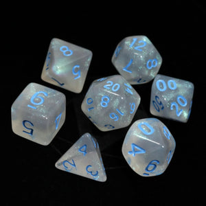 RPG Set - Glacial Moonstone w/ Blue