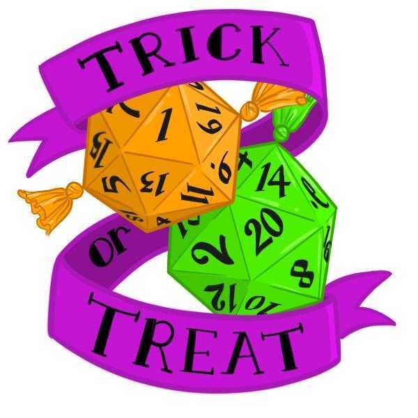 Die Hard Dice Halloween 2020 Sticker - Trick or Treat