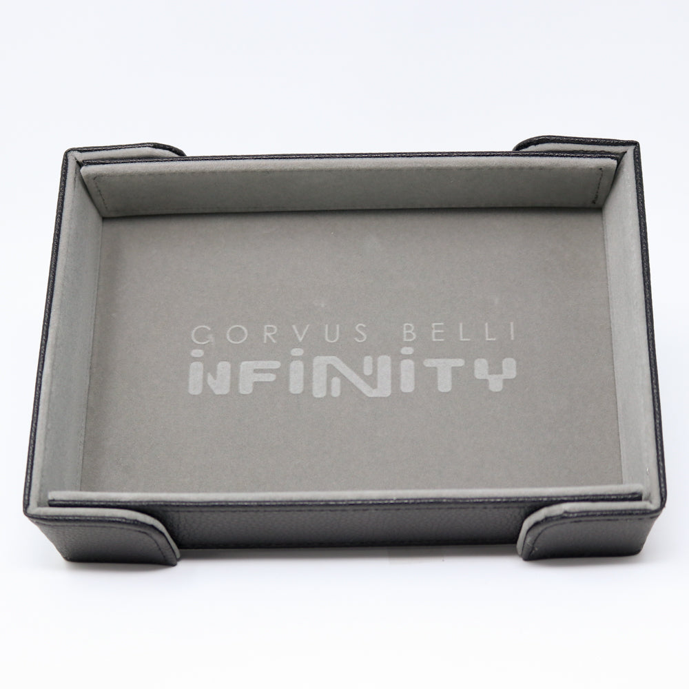 Infinity x DHD Magnetic Rectangle Tray w/ Gray Velvet