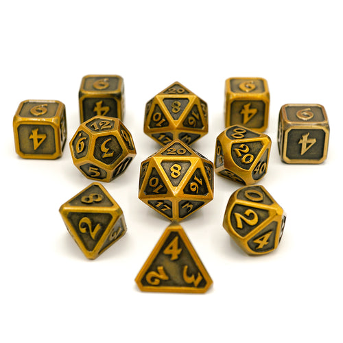 Mythica Battleworn Gold - 11 Piece Set
