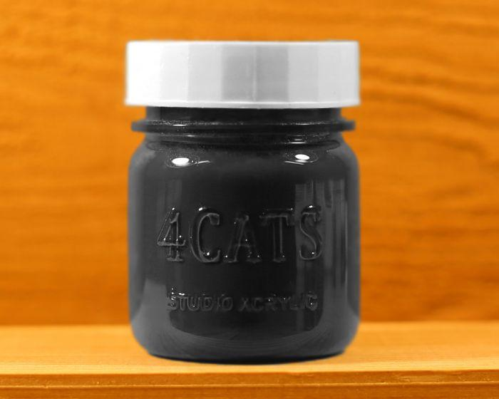4Cats Acrylic 45 mL |  Black