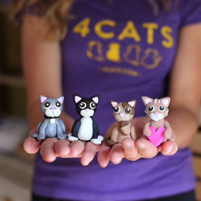 4Cats Ditto Oven-Bake Clay Cat Kit