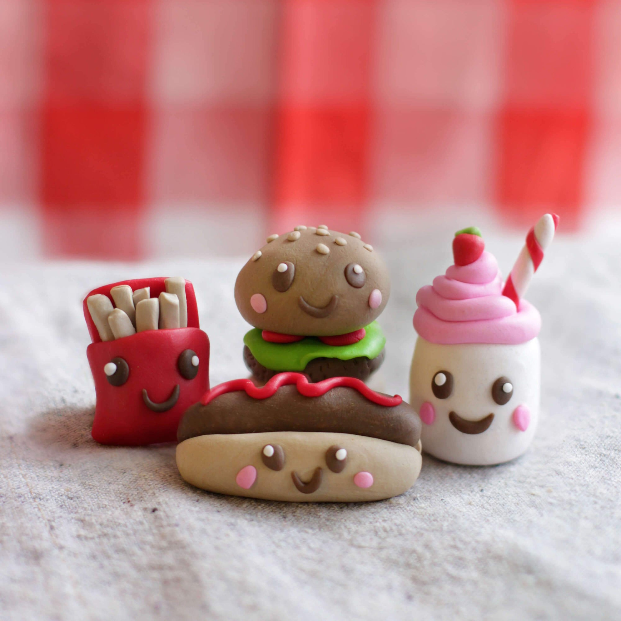 4Cats Ditto Oven-Bake Clay Foodie Burger Kit