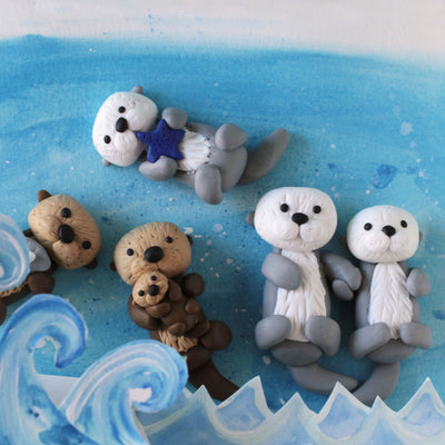 4Cats Ditto Oven-Bake Clay Sea Otter Kit