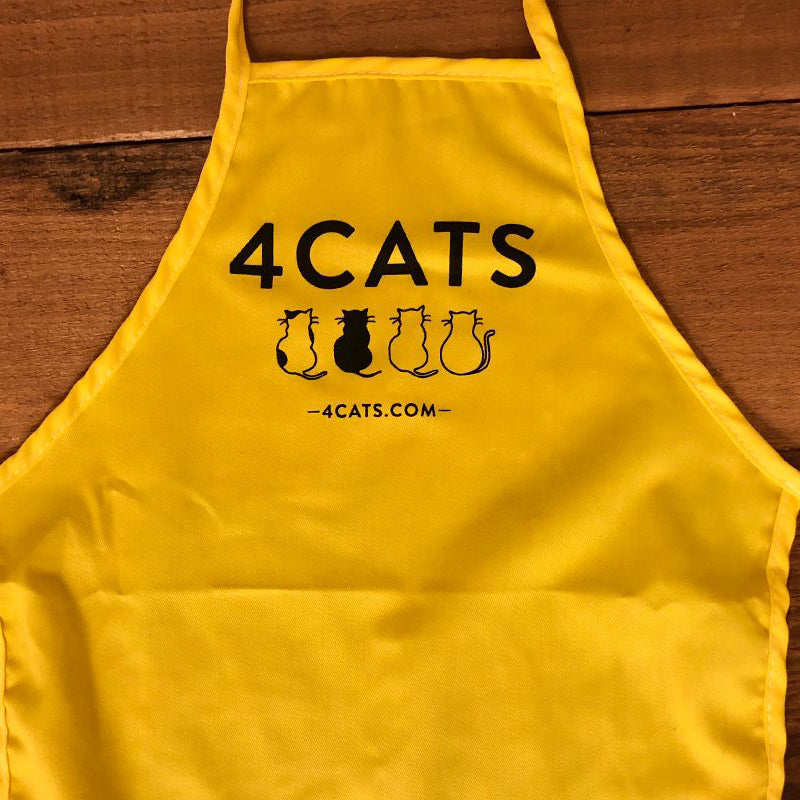 4Cats Kids Apron | $6.99