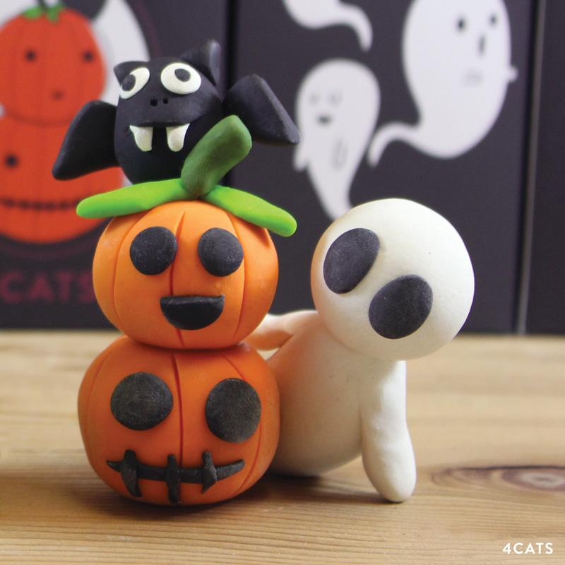 Sculpt Spooky Friends