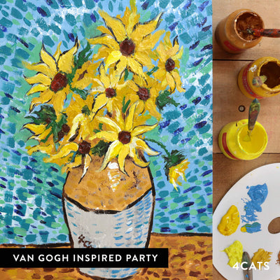 4Cats Adult Van Gogh Painting Party