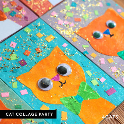 4Cats Kids Cat Collage Party