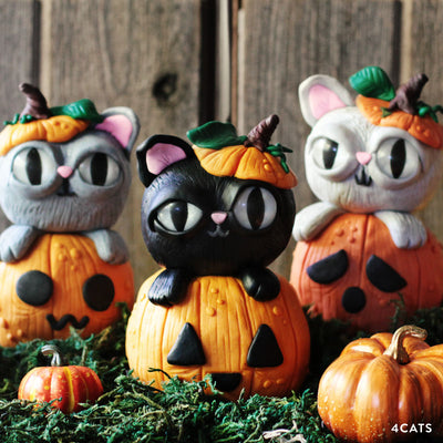 Kitten Patch Sculpture Kit with Online Tutorial