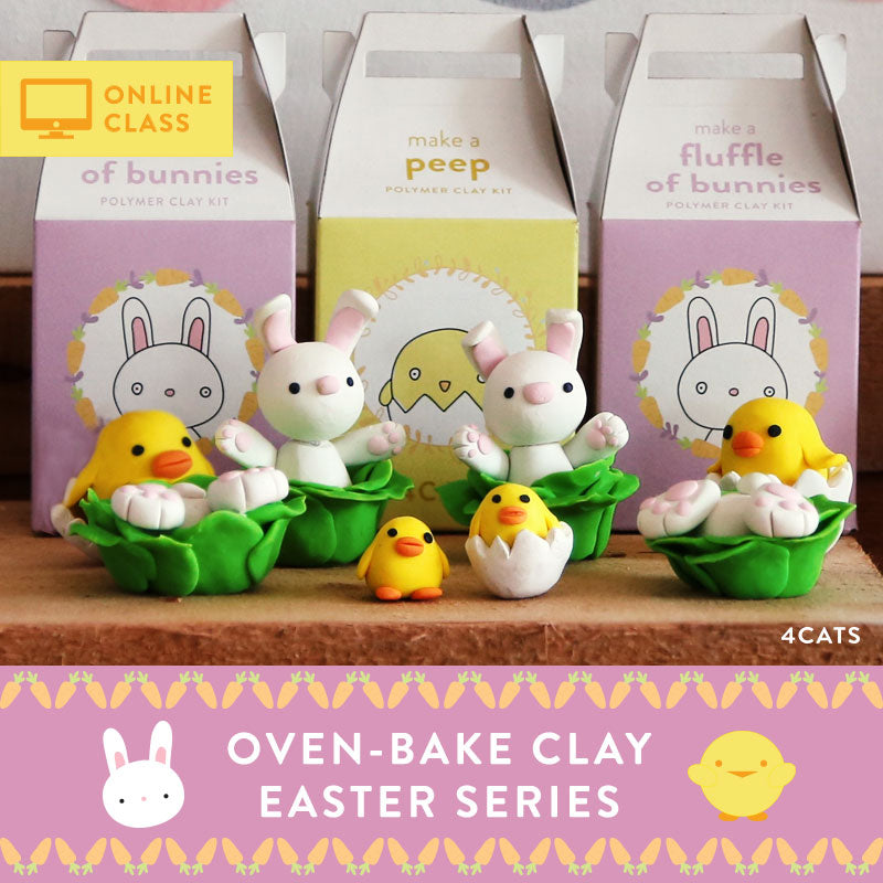 Online Class | Easter Series | Oven-Bake Clay