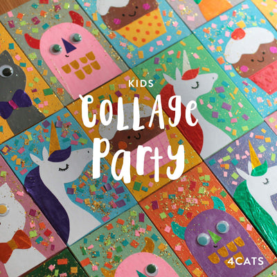 4Cats Kids Collage Party