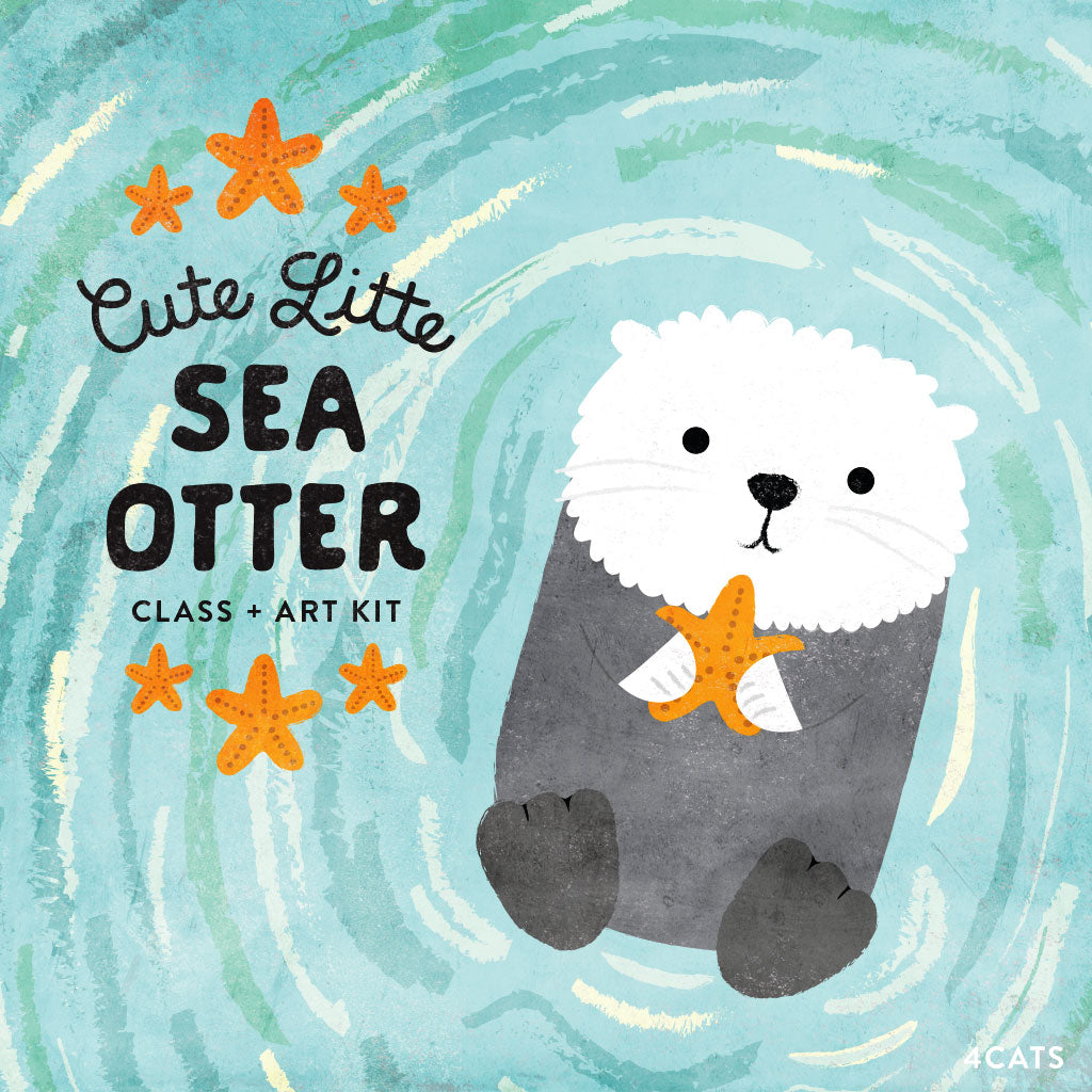 Cute Little Sea Otter Class