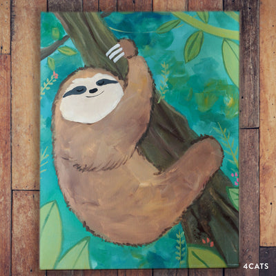 Cute Little Sloth