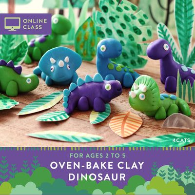 Sculpt a Dinosaur Kit with Online Tutorial