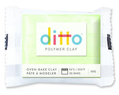 Ditto Oven-Bake Clay 50G Colours