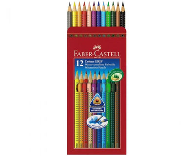 Faber-Castell Watercolour Eco Pencils- 12 Colours | $13.99