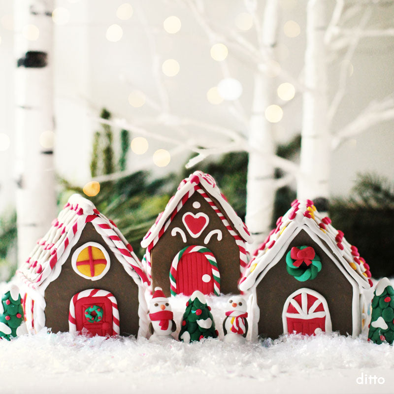 Gingerbread House Kit with Online Tutorial