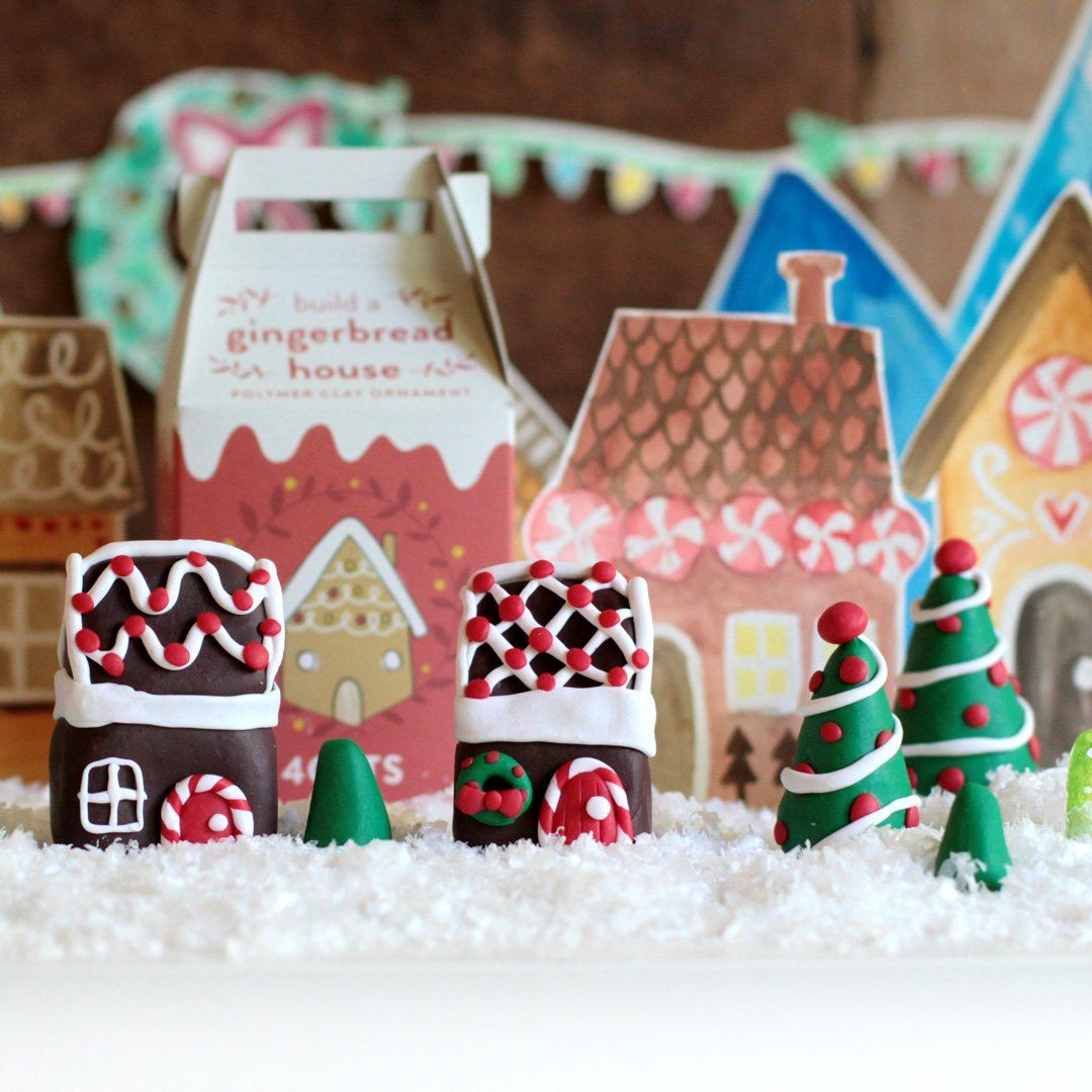 Sculpt a Gingerbread House | $14.99