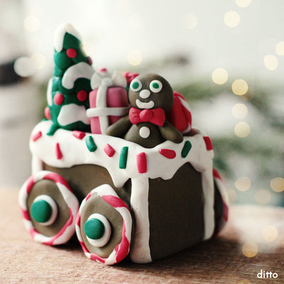 Holiday Train Kit with Online Tutorial