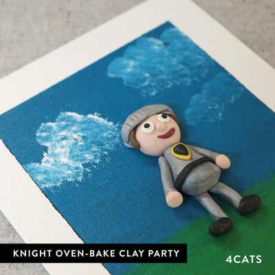Kids Knight Oven-Bake Clay Party