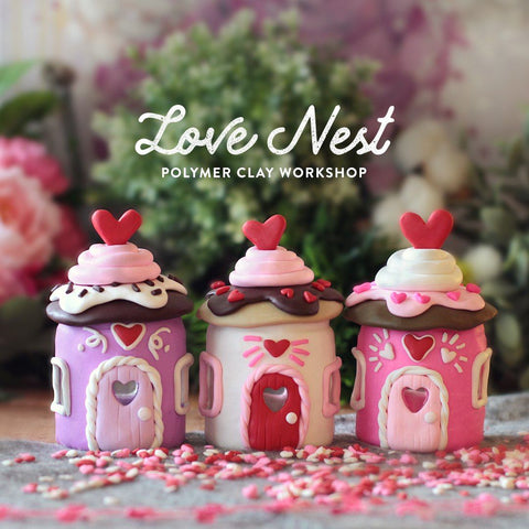 Love Nest Oven-Bake Clay Workshop
