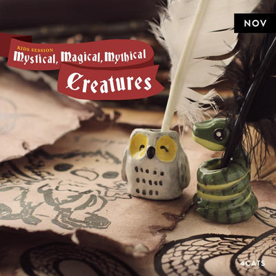 4Cats Kids Mystical, Magical, Mythical Creatures Session
