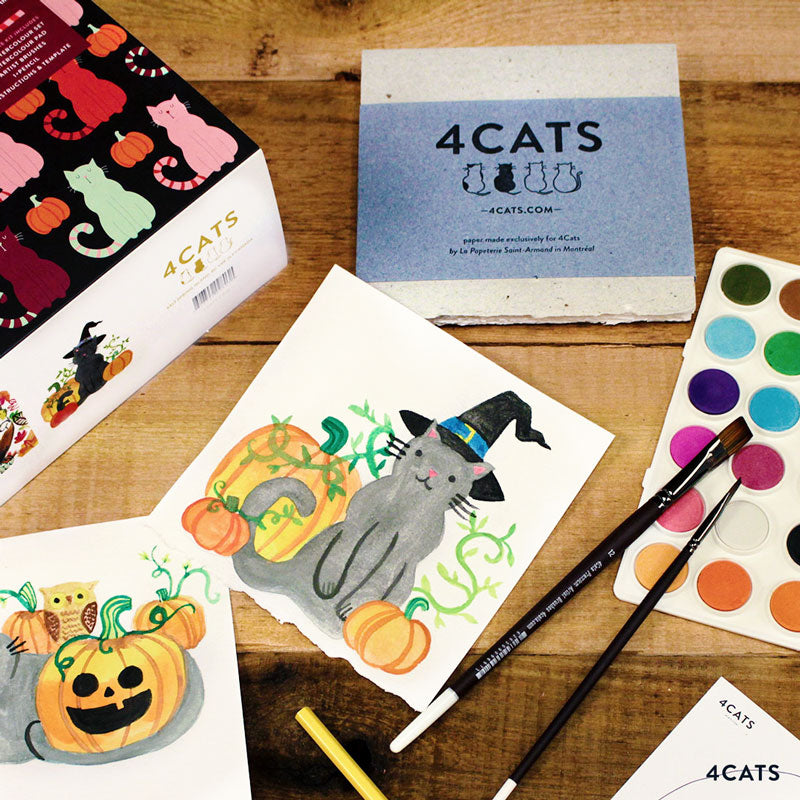 My Little Pumpkin Watercolour Kit - $29.99