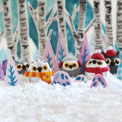 4Cats Ditto Oven-Bake Clay Owl Kit
