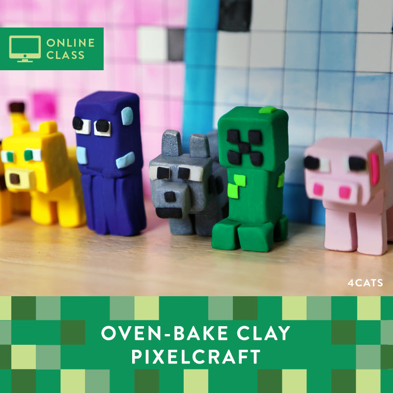 Sculpt a Pixelcraft Kit with Online Tutorial
