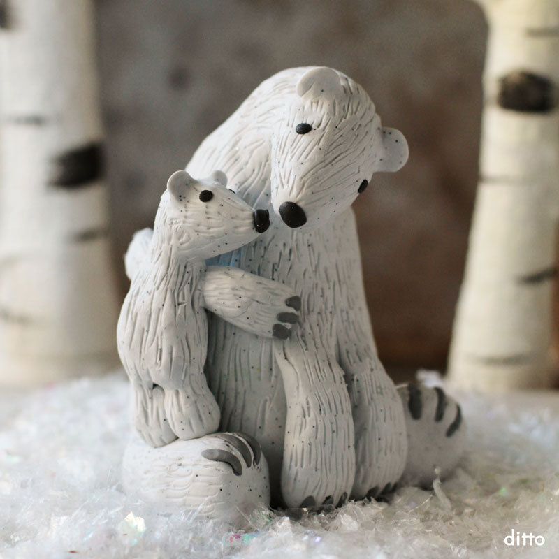 Polar Bear Pair Kit with Online Tutorial