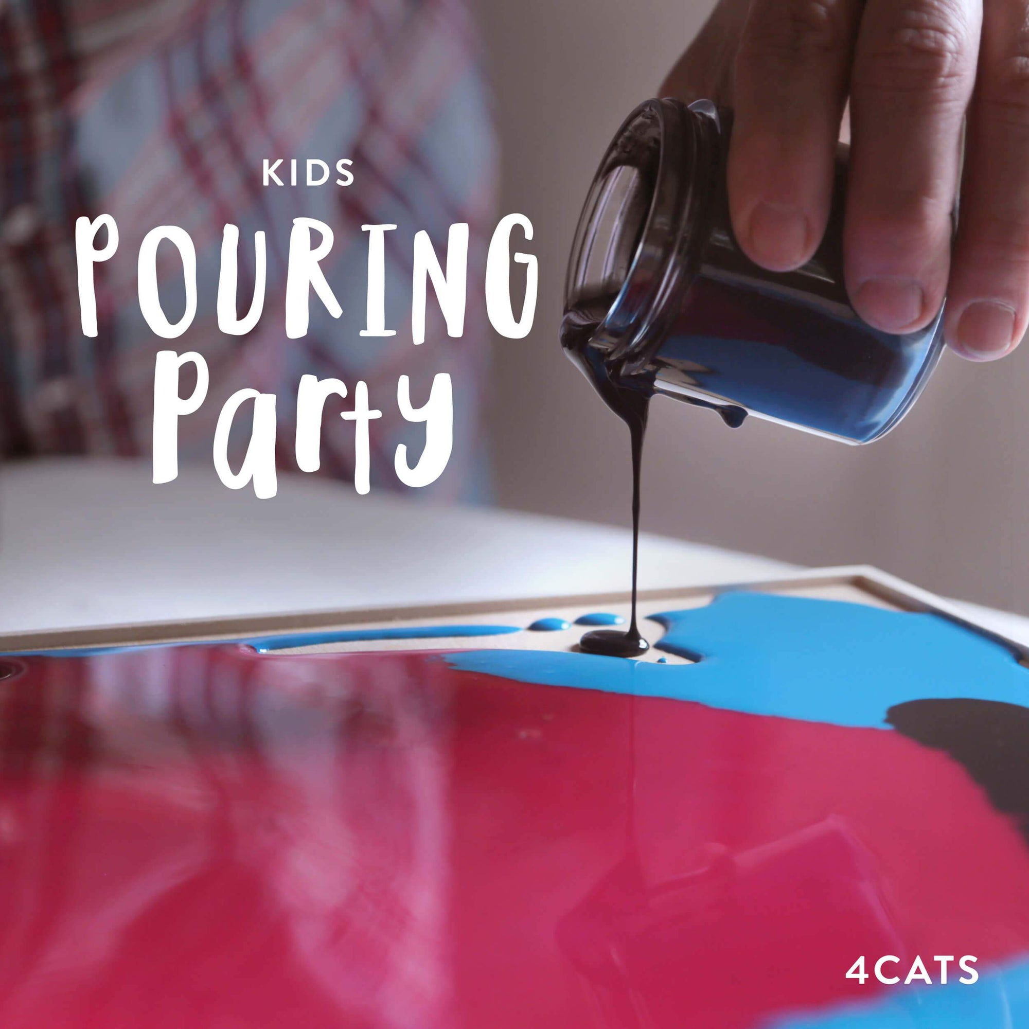 4Cats Kids Pouring Party