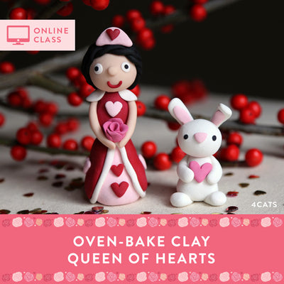 Sculpt a Queen of Hearts Kit with Online Tutorial